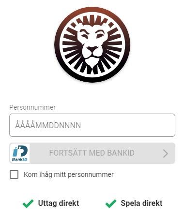 LeoVegas registrering med Spellicens i Sverige