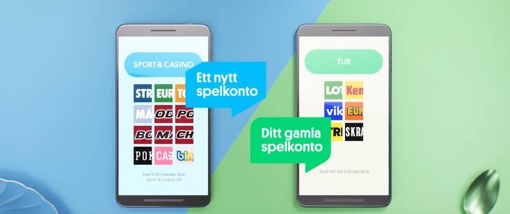 Skapa nytt spelkonto på Svenska Spel Sport & Casino AB