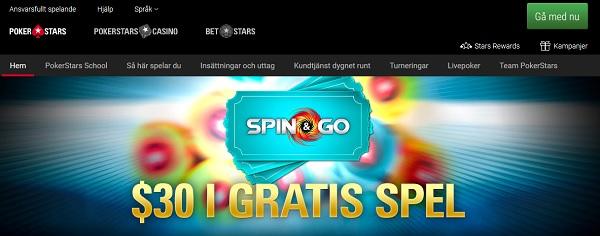 Pokerstars får Svensk Spellicens