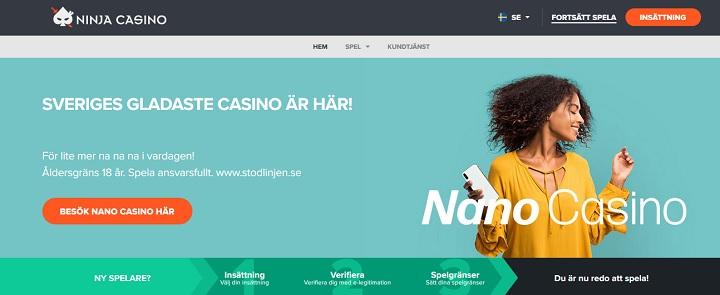 Ninja Casino överlåts till Viral Interactive