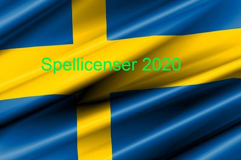 Casinon med svensk spellicens 2020