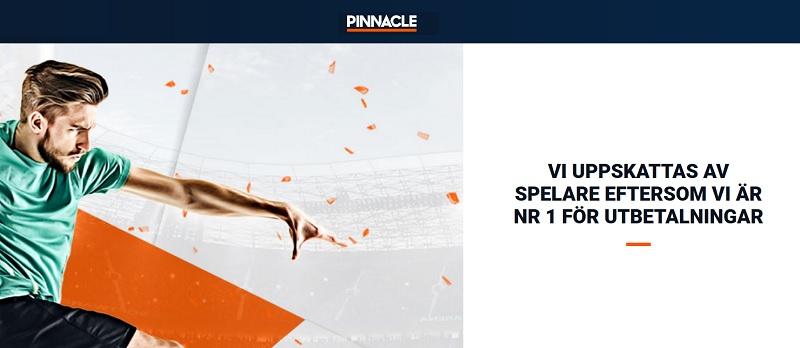 Pinnacle Sports har nu en svensk spellicens