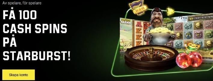 Unibet ändrar alla sina bonusar till 100 kr
